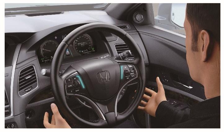 Honda w modelu Legend oferuje systemy autonomizujące poziomu 3