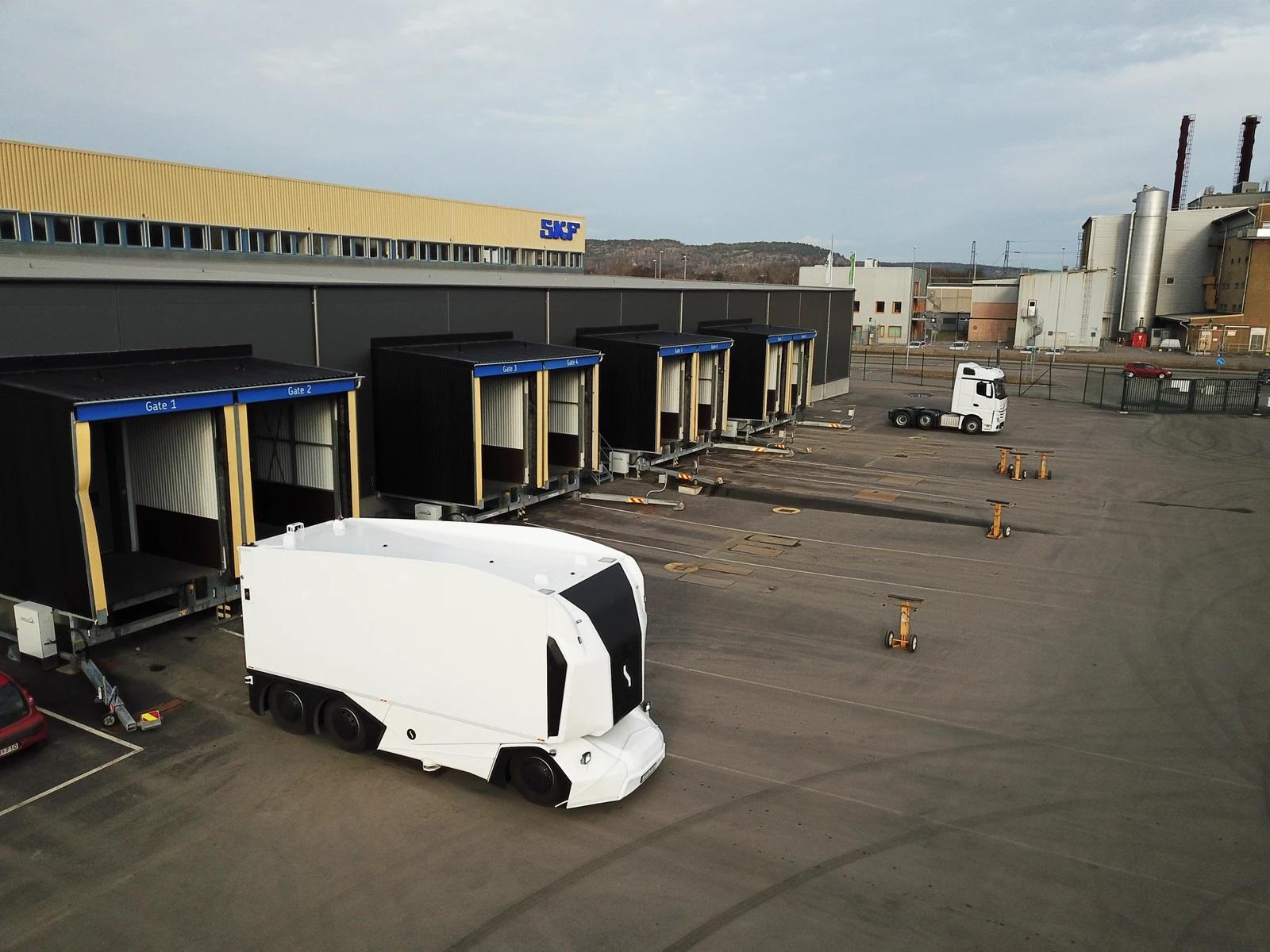 SKF i Einride rozpoczynają współprace w zakresie testów pojazdów autonomicznych