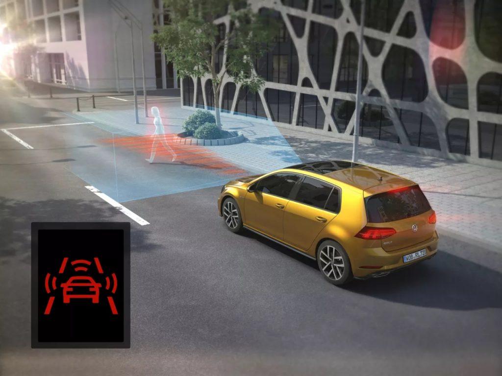Systemy wsparcia kierowcy - AEB