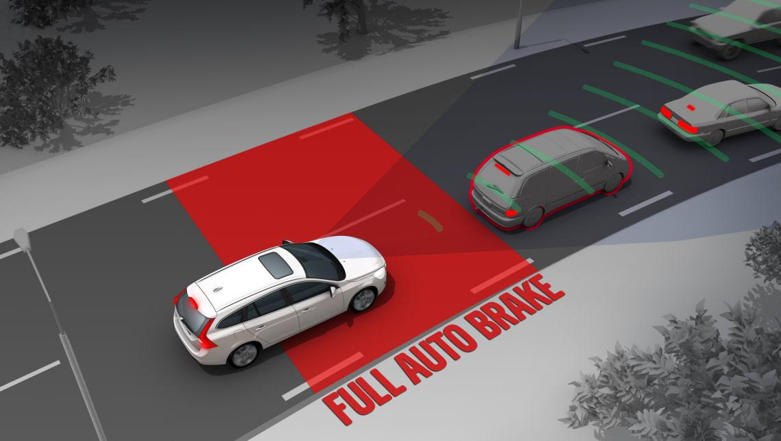 Systemy wsparcia kierowcy: System automatycznego hamowania cz. 1
