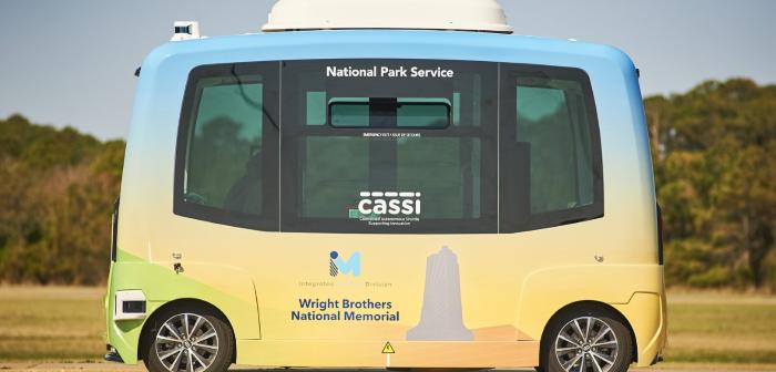 US National Park Services rozpoczyna próby pojazdów autonomicznych