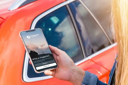 HoppyGo – nowa usługa mobilności wspierana przez ŠKODA AUTO DigiLab – dostępna w Polsce